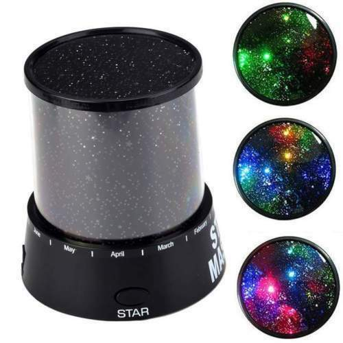 Night Romatic Gift Cosmos Star Sky Master Projector Starry Night Light Lamp GP