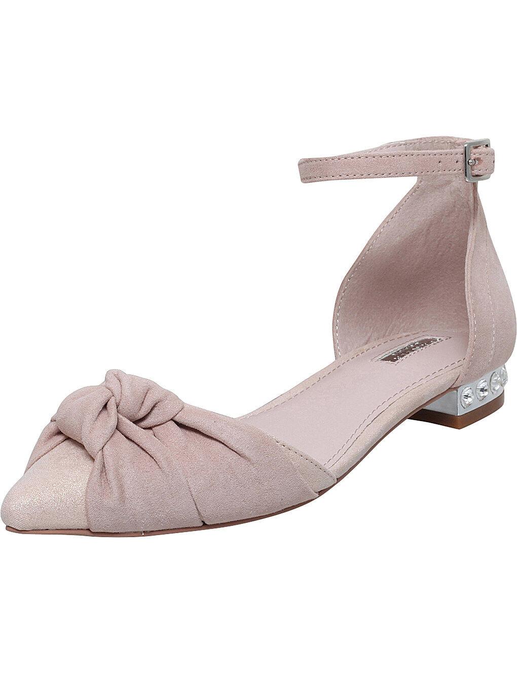 CARVELA Leah Faux Suede Flats Pink   UK UK UK 5 EU 38 LN077 KK 01 SALEs 399530