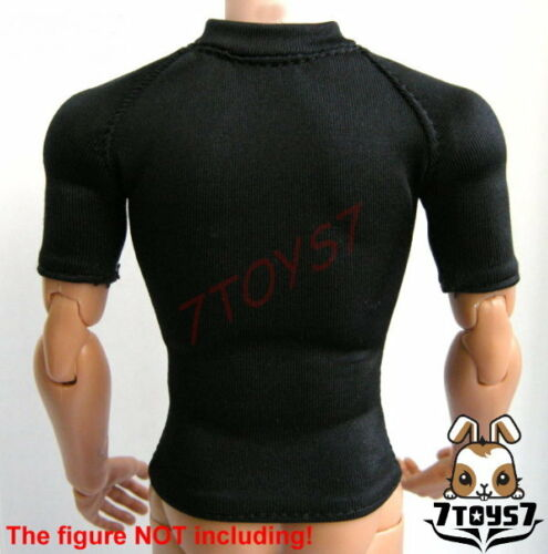 Wild Toys 1//6 Tight Black Short sleeves Tee only /_Sports tactical Now WT020A