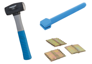 """PAIR OF 1/"""" BRICK HAMMER OR CHISEL SCUTCH CHISELS"""