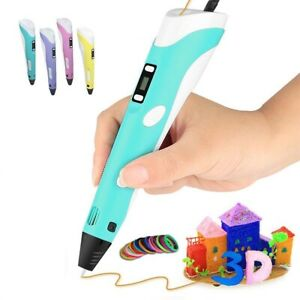 New-3D-Printing-Pen-2nd-Crafting-Doodle-Drawing-Art-Printer-Modeling-PLA-ABS-DIY
