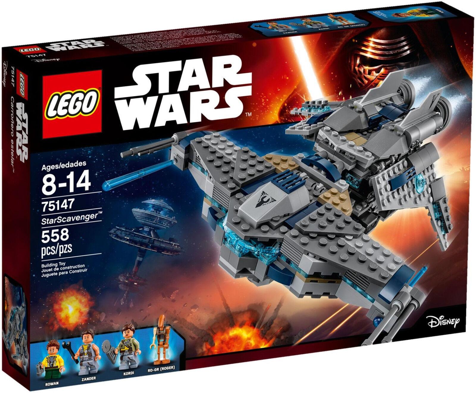 LEGO Star Wars - 75147 starscavenger con Rowan, Persico, Kordi, RO-GR-NUOVO & OVP
