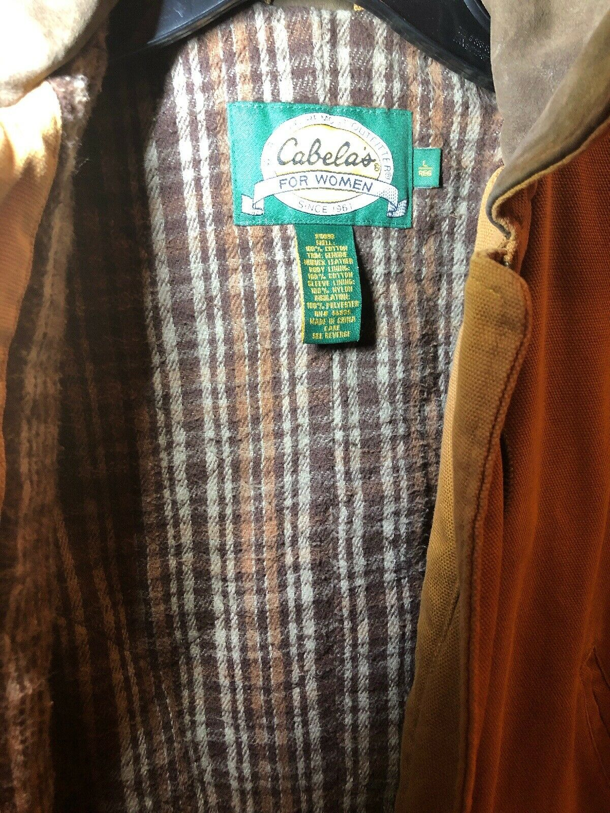 Cabela's Worlds Foremost Outfitter Zip Up Jacket … - image 4