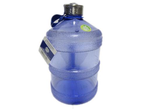 Round BPA Libre en Plastique Réutilisable Bouteille D/'eau Potable Conteneur 1 Gal environ 3.79 L