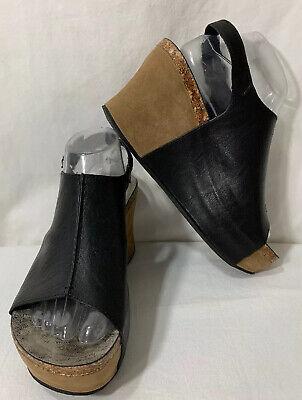 Women's Black Pierra Open Toe Sandals