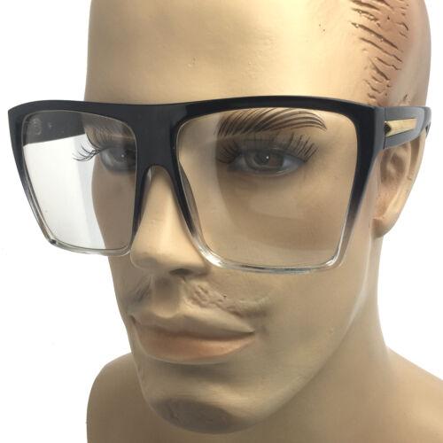 Clear Lens Oversized Large Eye Glasses BigFashion Hipster Vintage Retro Sunglass