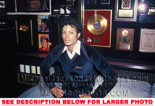MICHAEL JACKSON 1986 MJs AWARDS ROOM 1xRARE8x10 PHOTO
