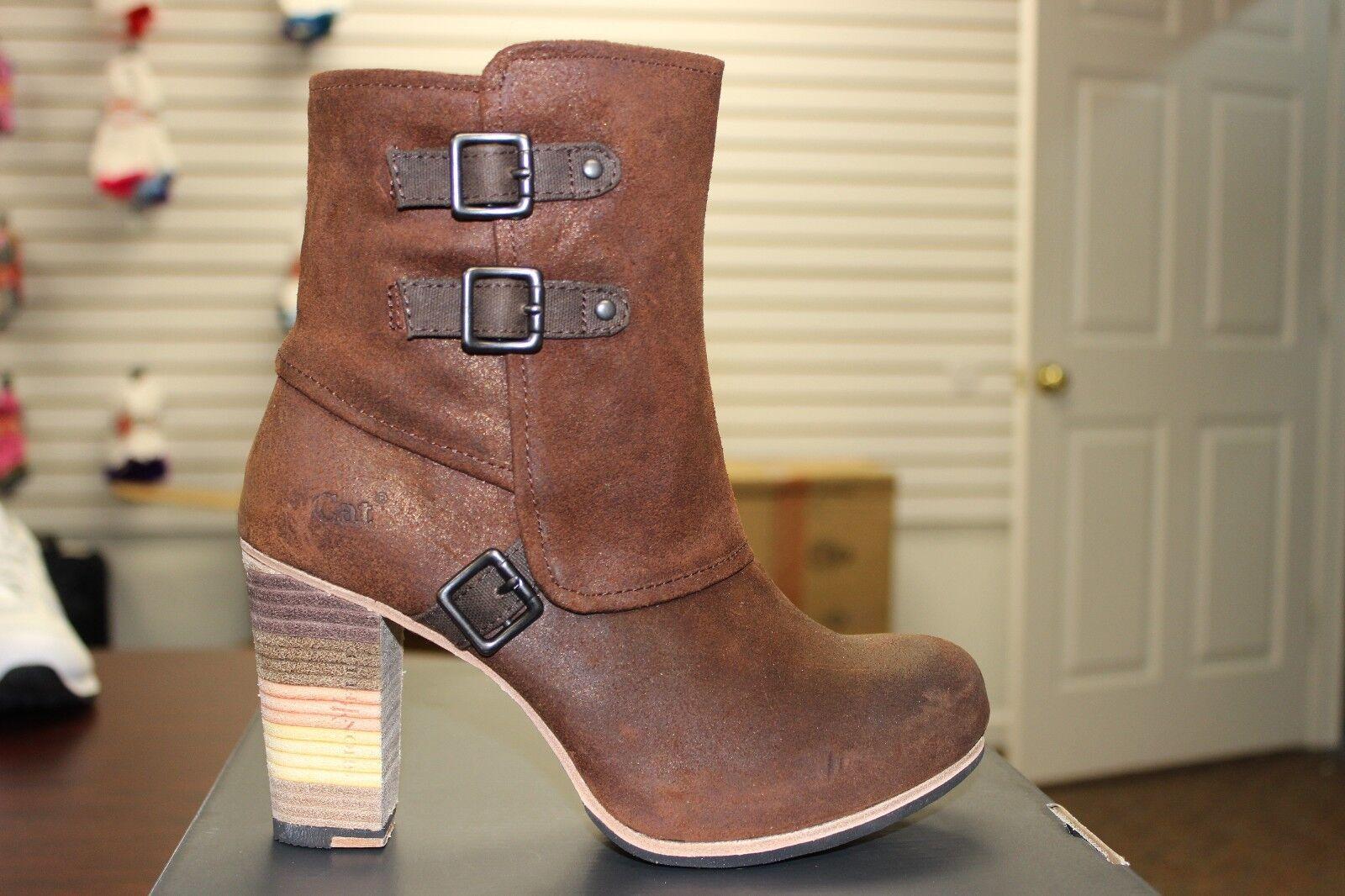 Mujer Mujer Mujer Caterpillar Bajan 22.9cm botas Bronce P305845 Piel Premium  costo real