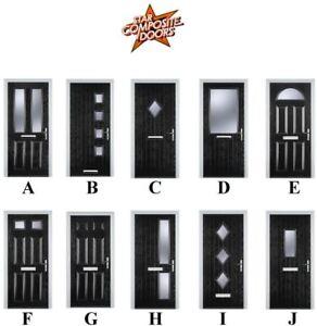 Stupendous Modern Composite Front Doors Made To Measure Brand New 10 Year Guarantee Ebay Door Handles Collection Dhjemzonderlifede