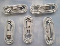 5X LOT  TEN (10) FOOT USB Data Sync Charger Cable  iPad 1, 2, 3, & iPhone 3,4 4S