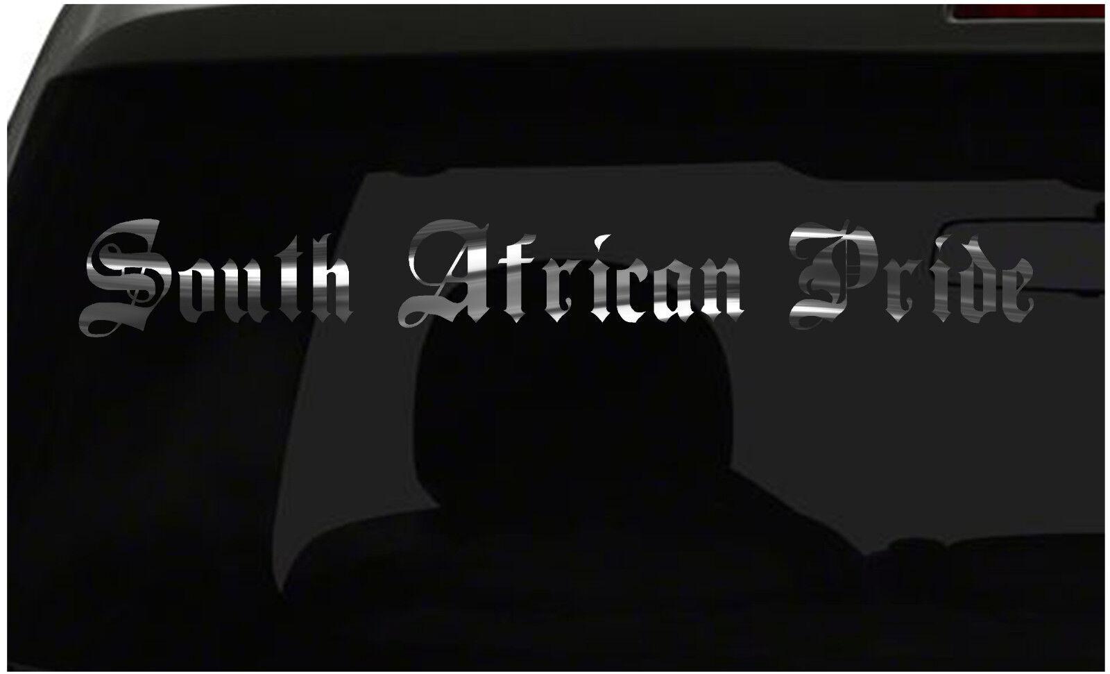 South African Pride calcomanía país orgullo la etiqueta engomada de todos Los Tamaños Y Colors ¡ Envío Rápido