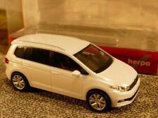 HERPA 038492-003 H0 1:87 VW Touran NEUWARE! oryxweiß