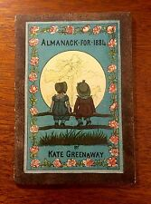 Kate Greenaway, Almanack for 1884, Original