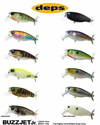 Topwater Lure Select Color s Deps Buzzjet Jr