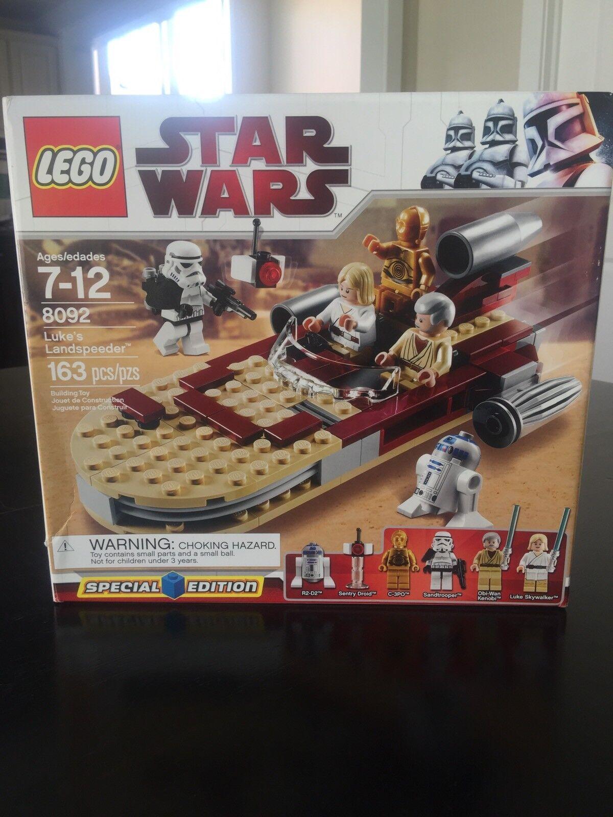 Lego Special Edition Star Wars Luke's Landspeeder Set 8092 NRFB