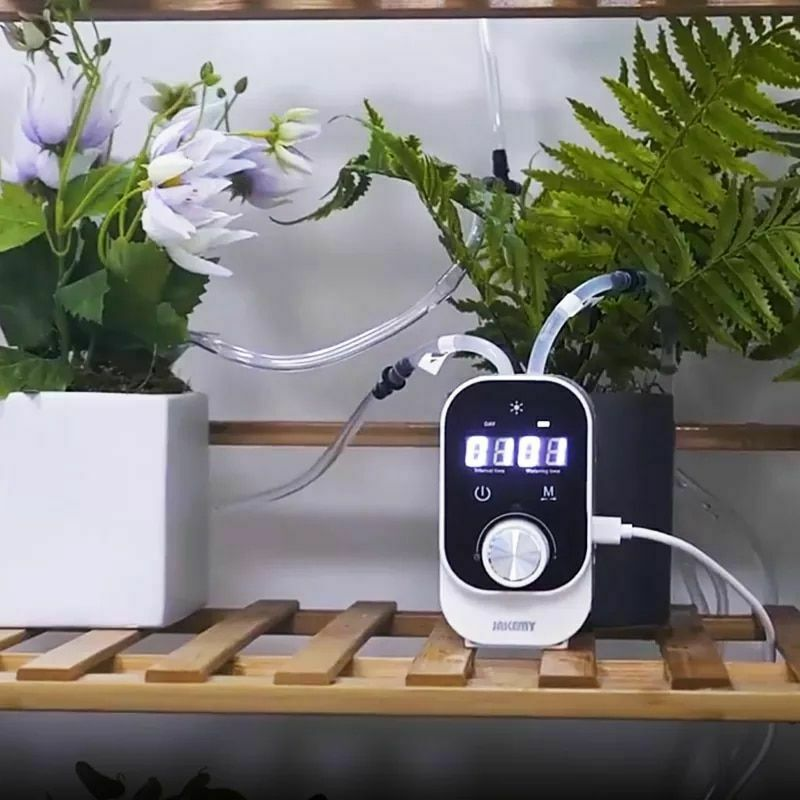 Home Garden Intelligent Timing Watering Device Automatic Drip Irrigation System