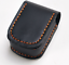 Men small Waist Bag Fanny Cow Leather purse Pouch wallet Customize black z530