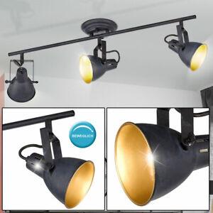 Decken Lampe Leuchte Chrom Spot Strahler Beleuchtung Wohn Zimmer Vintage Retro