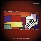 Peter Maxwell Davies: Piano Works, 1949-2009 (2013)
