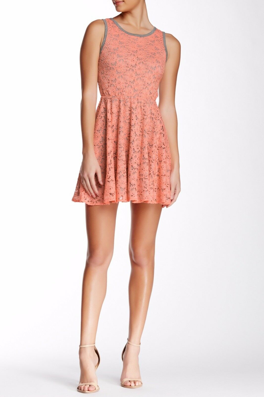 NWT Trina Turk Crestline Sleeveless Lace Dress  – L