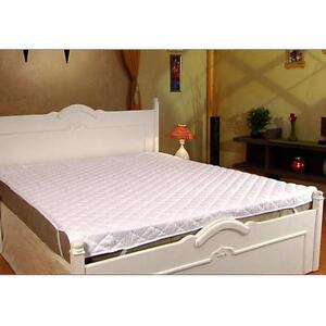 2 X Signature Microfiber Waterproof Double Bed Mattress Protector 72