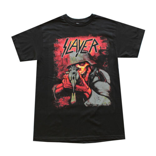 Slayer Sniper Skull Men/'s T Shirt Black