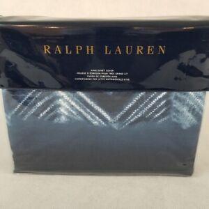 New-Ralph-Lauren-King-Duvet-Cover-ST-JEAN-FARRIN-Blue