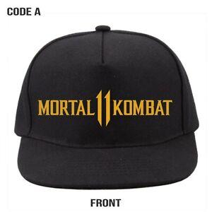 b613c21fa5839 Image is loading Hat-Snapback-Mortal-Kombat-11-caps