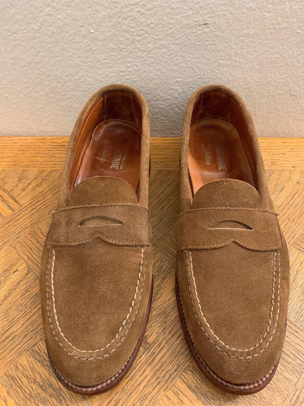 Alden Snuff Suede X Unionmade Loafers Men's Größe 11 B D 62437