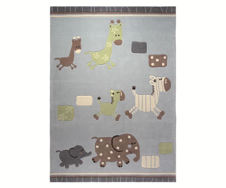 Esprit alfombra  Lucky Zoo  esp-2842-02 azul tamaños de selección
