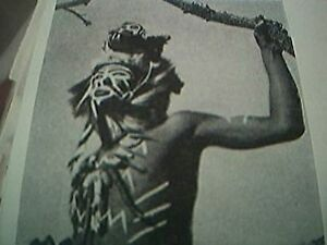 ephemera 1957 picture mokivu african witch doctor - Leicester, United Kingdom - ephemera 1957 picture mokivu african witch doctor - Leicester, United Kingdom
