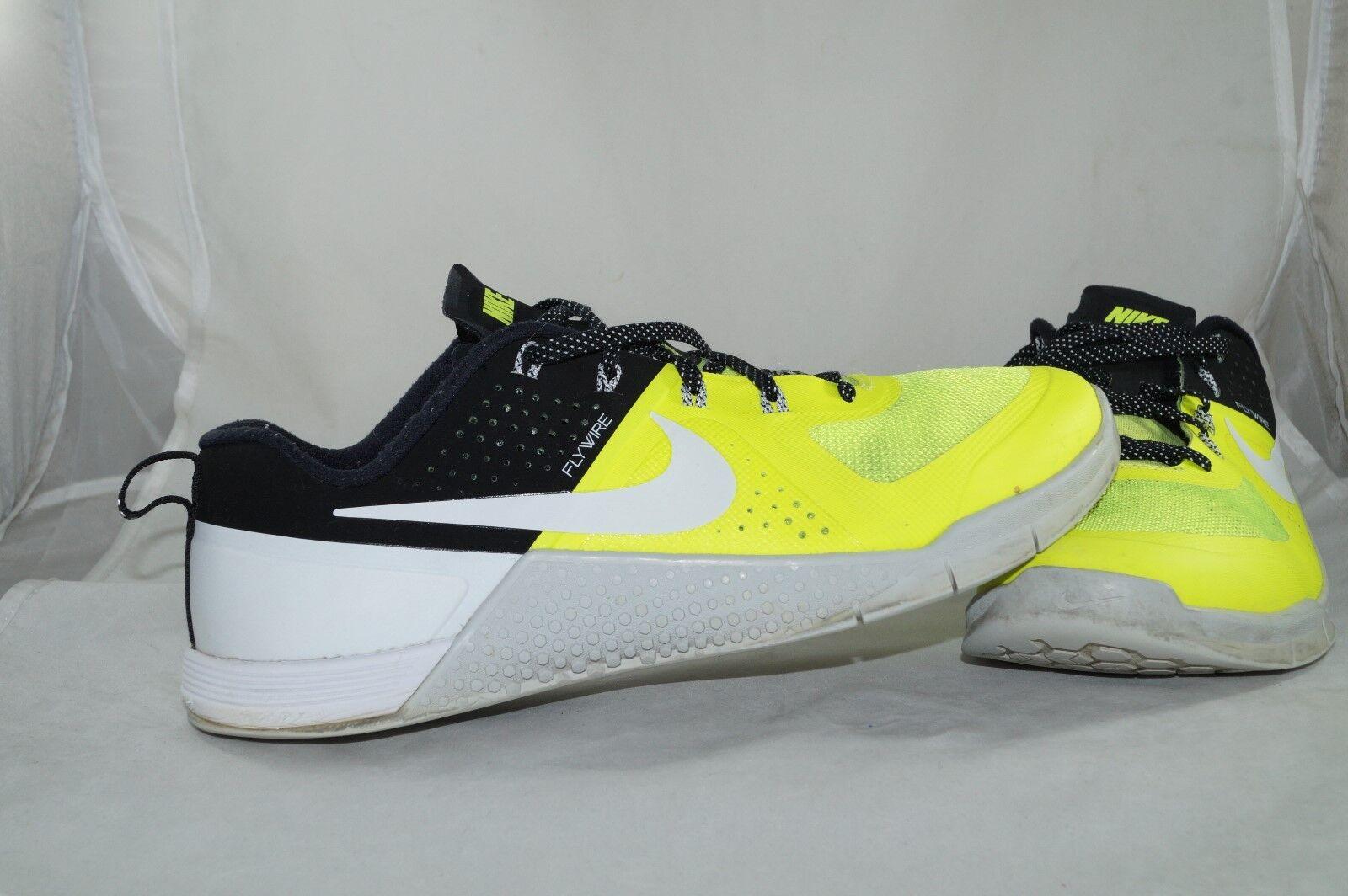 Nike Metcon 1 Trainers GR: 43 Sportschuhe Flywire Neongelb