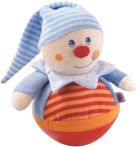 Stehauffigur Kasper HABA 5849 Stehaufmännchen Babyspielzeug
