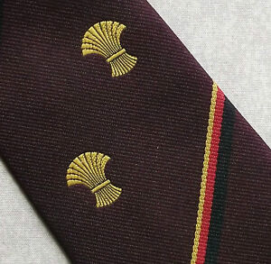 Logique Vintage Regimental Tie Homme Cravate Club Association Wheat Sheaf-afficher Le Titre D'origine