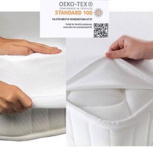 Matratzenschoner-Matratzenauflage-Wasserdicht-Inkontinenz-Matratzenschutz-Molton