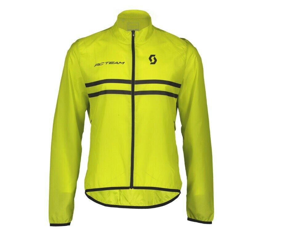 Mantellina SCOTT JACKET RC TEAM Sulphur Gelb