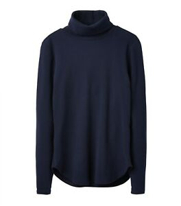 Joules-Clarissa-Roll-Neck-Jersey-Top-French-Navy