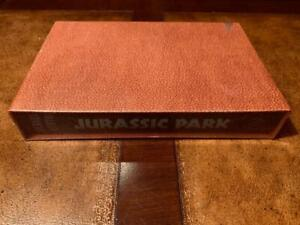 Folio Society JURASSIC PARK Michael Crichton SEALED