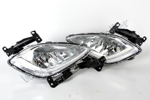 Fog Driving Light LEFT+RIGHT Fits HYUNDAI Elantra MD 2011-2015