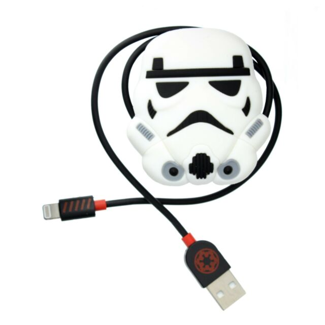 Star Wars Storm Trooper iPhone Charging Cable - Made for iPhone Certified