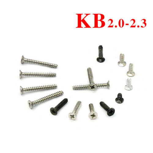 M2 M2.3 Carbon Steel Phillips Countersunk Head Self-Tapping Screws Flat Tail