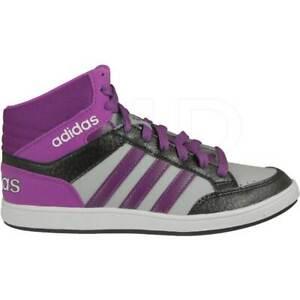 Adidas-Hoops-Mid-Scarpa-Sneakers-Donna-Col-Viola-tg-varie