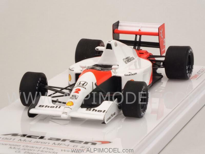 fino al 70% di sconto McLaren MP4 MP4 MP4 6 Honda Winner GP Japan 1991 Gerhard Ber 1 43 TRUESCALE TSM144333  più economico
