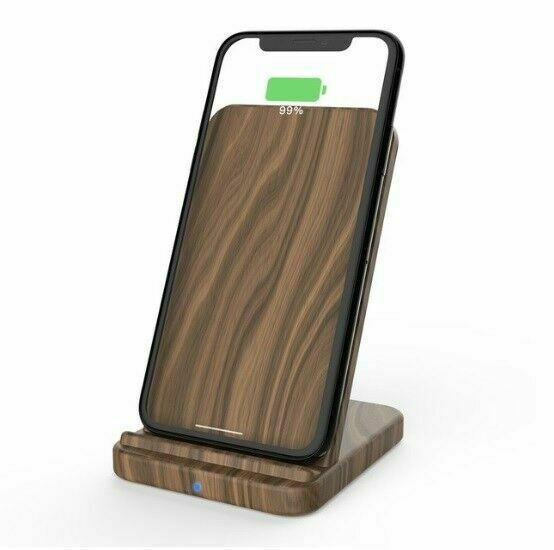 Smart Qi Wireless Wood Fast Charger Accessory Stand Phone Charging Pad Station For Sale Online Ebay