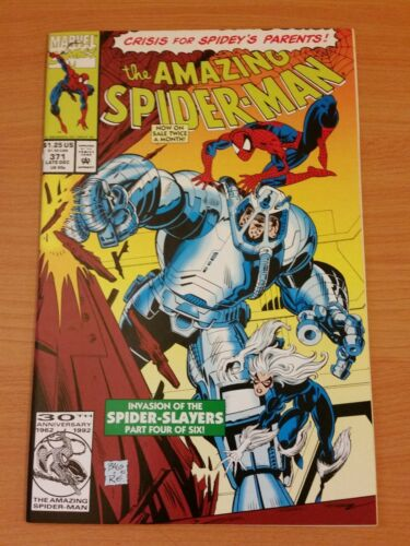 The Amazing Spider-Man #371 ~ VERY FINE NEAR MINT NM ~ 1992 MARVEL COMIC