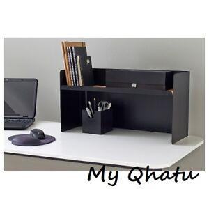 """New Ikea Bekant Desktop Shelf Desk, Black  23 5/8"""" X 12 5/8 """" 902.603.62"""