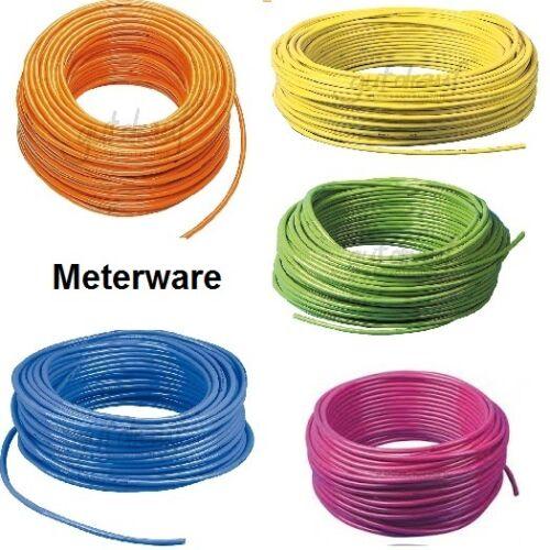 Baustellenleitungl h07bq-g au mètre-entièrement pur-BQ Câble dans de nombreuses couleurs