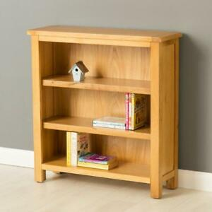 Image Is Loading Poldark Oak Small Bookcase Light Low
