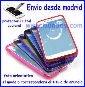 Funda-Silicona-Tpu-Gel-mate-Para-Motorola-MOTO-X2-protector-cristal-opcional