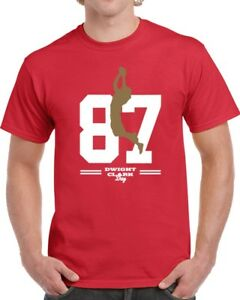 sports shoes 29669 3fc45 Details about Dwight Clark San Francisco Football T Shirt